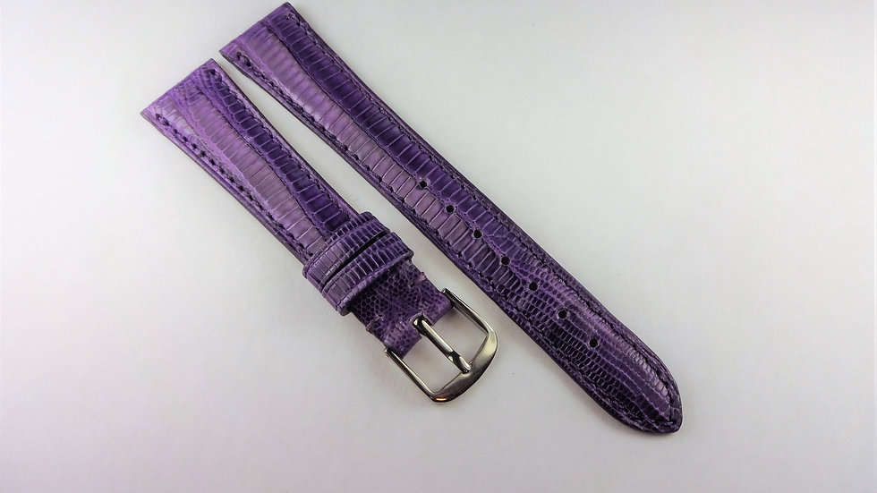 Replacement 16mm Purple Genuine Teju Lizard