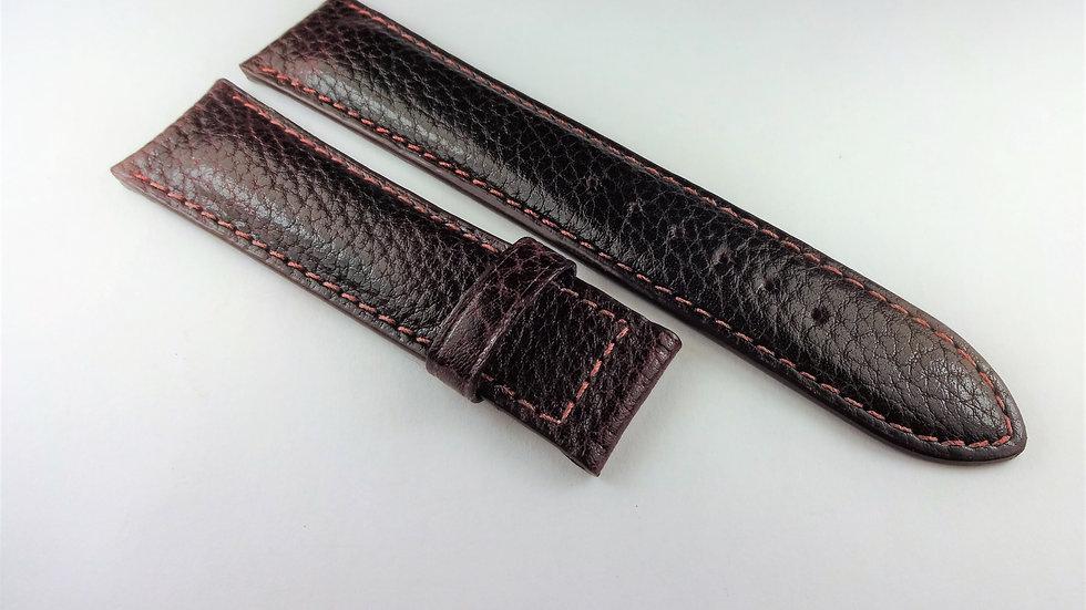 Consul 20mm Wine Genuine Leather Buffalo Grain