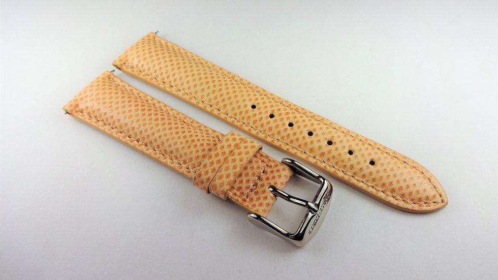 Chase-Durer 18mm Light Pink/Salmon Genuine Snakeskin