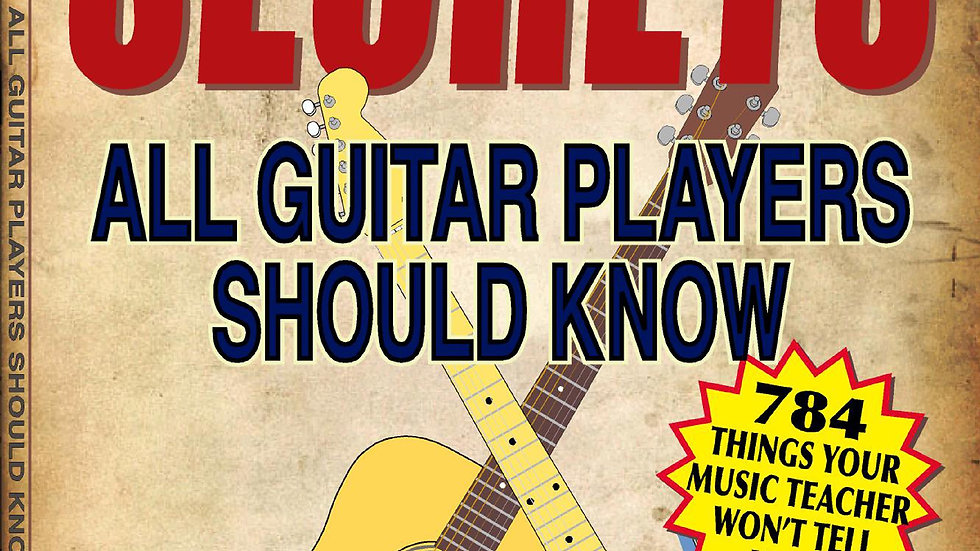 SECRETS All Guitar Players Should Know Book