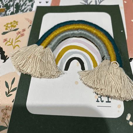 """Base layout """"caixa de papelão reciclado"""" com Marcela Scarpa @azulcastanho"""