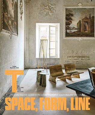 New York Times Style Magazine Artisan Finishes for Alex P White