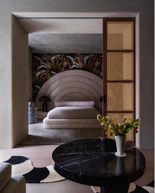 Art Deco Luxe Plaster Finishes for Alex P White Interior Design