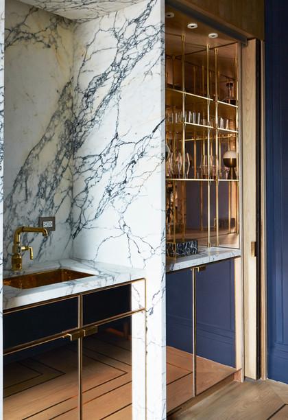 Brushed Lime finish for Paris Forino Interior Design