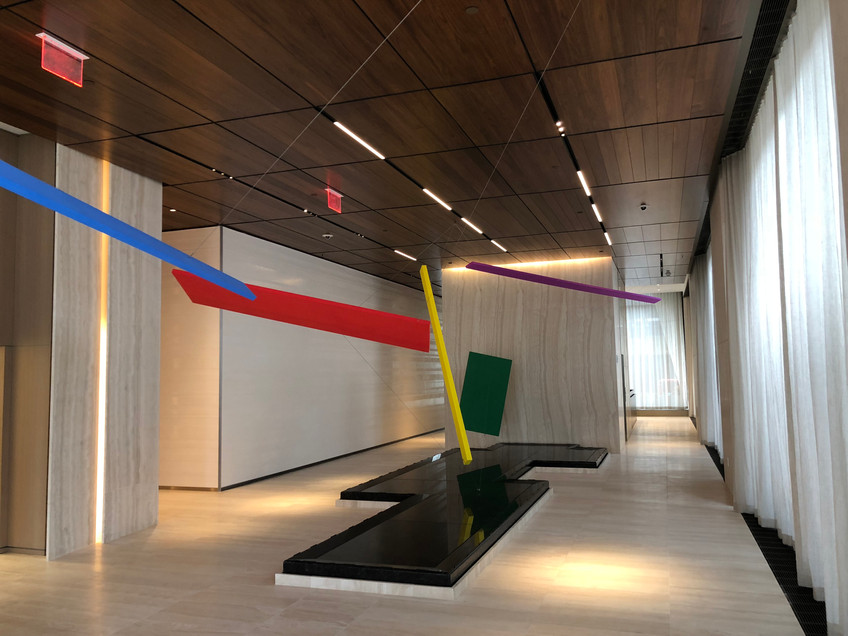 Custom Limestone and Metal Plaster Finishes for 15 Hudson Yards