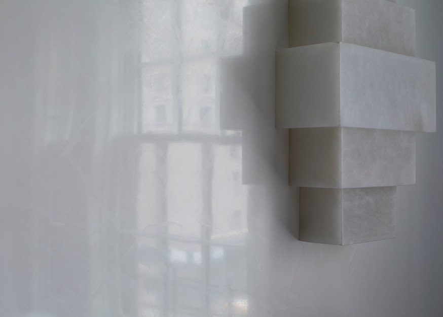 Polished Plaster for Ike Kligerman Barkley Architects Park Avenue Residence