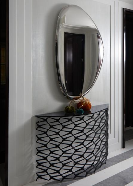 Linen Weave Plaster for Ike Kligerman Barkley Architects Park Avenue Residence