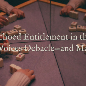Echoed Entitlement in the #OwnVoices Debacle—and Mahjong?