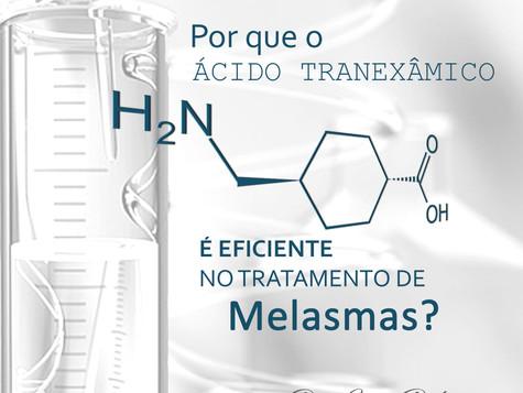 Por que o Ácido Tranexâmico é eficiente no tratamento de Melasma?