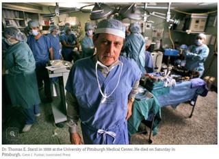 Thomas E. Starzl, pionnier de la greffe du foie s'est éteint à l'âge de 90 ans.
