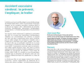 Prix Jean-Paul BINET pour le Professeur Jean Louis Mas