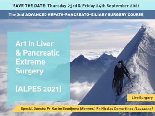ALPES 2021: Art in Liver and Pancreatic Extreme Surgery