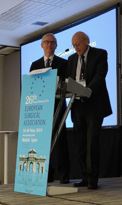 Henri Bismuth introducing Fabrizio MICHELASSI