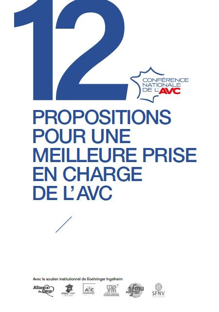 """Livre blanc 2020 """"COMMENT AMÉLIORER LA PRISE EN CHARGE DES AVC EN FRANCE ?"""""""