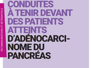 Recommandations Adénocarcinome du Pancréas