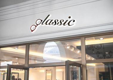 the Glassic signage