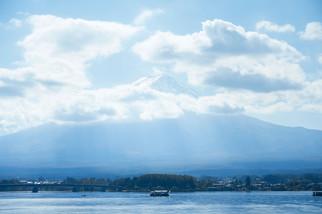Mount Fuji and Lake Kawaguchiko