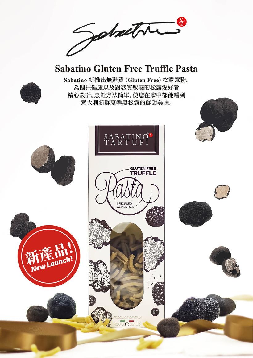 truffle pasta poster