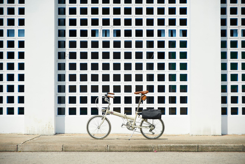 bicycle and the wall