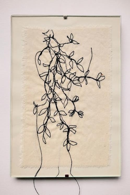 Planta (com moldura) - Artista Plástica Ana Beatriz Artigas