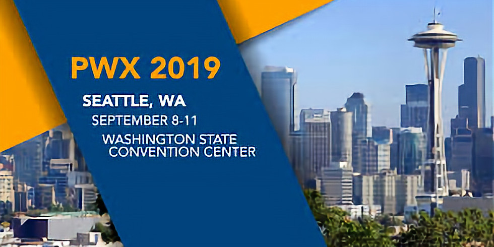 PWX 2019 in Seattle, Washington!