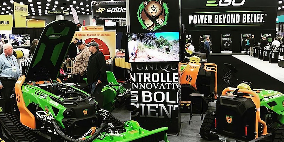 Green Climber at the GIE + EXPO 2019