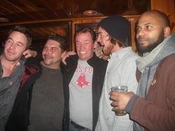 The boys at the Wharf