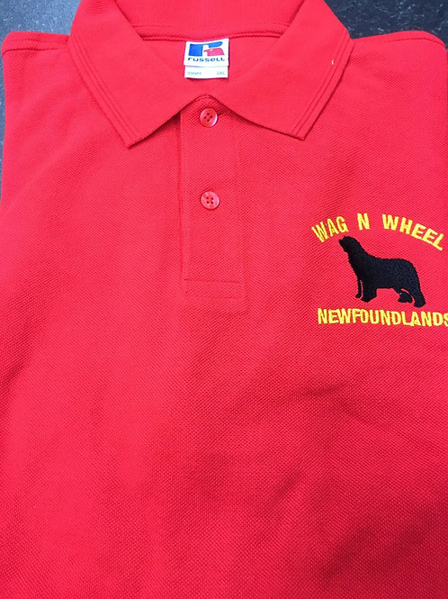 Wag N Wheel Polo Shirt