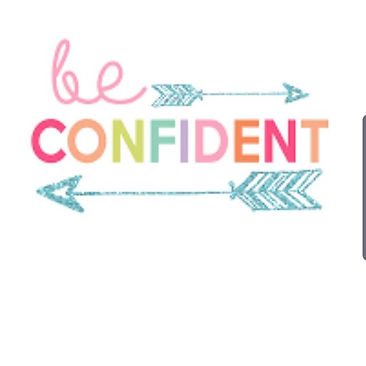 The best way to #beconfident is give it
