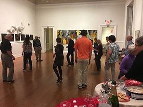 Group dance class at the Athenaeum in Alexandria.www.artofballroomdance.com