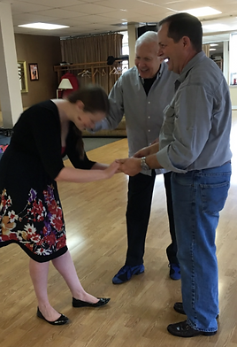 Fun father/Daughter wedding dance lesson in Alexandria with Gary Stephans, Art of Ballroom Dance