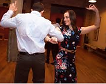 Couple in Gary Stephans' group dance lessons in Alexandria