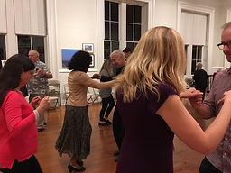 Gary Stephans' group ballroom dance class in Alexandria, VA