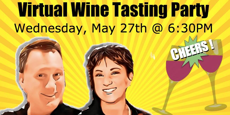 Virtual Wine Tasting Party