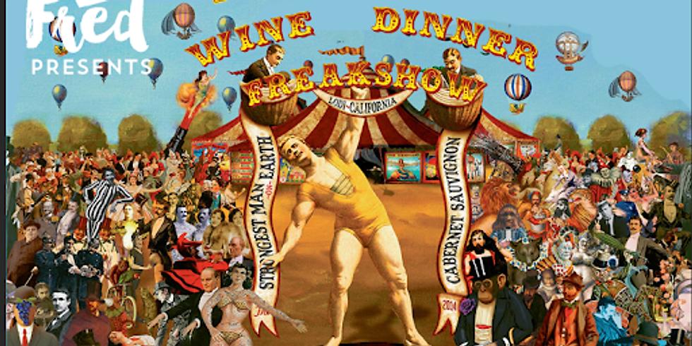 Freakshow Wine Pairing