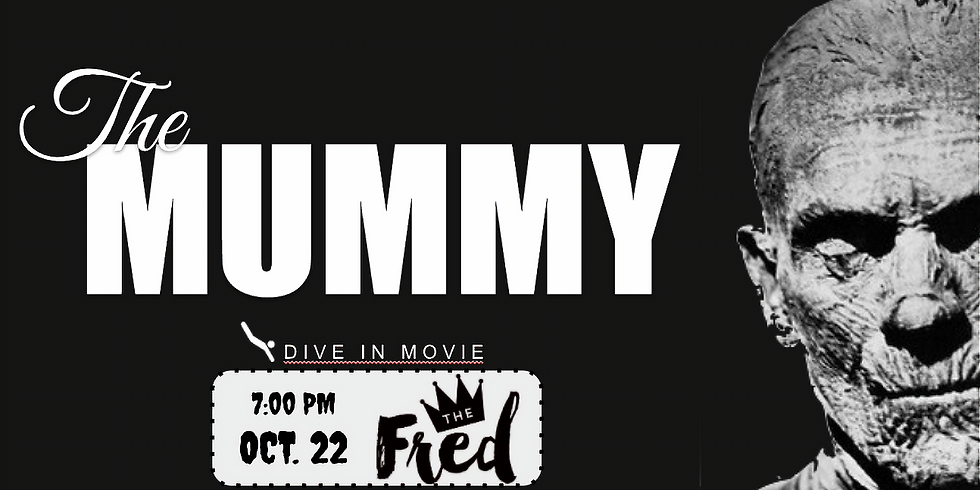 DIVE-In Dinner & Movie Combo: feat. The Mummy (1932)
