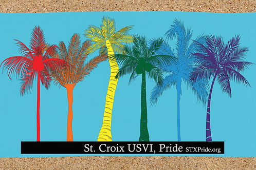 St. Croix Pride Beach Towel