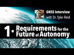 Only GNSS interview with Dr Tyler Reid Part 1
