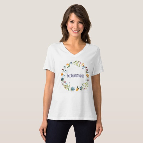 "T-shirt ""Dream and dance"""