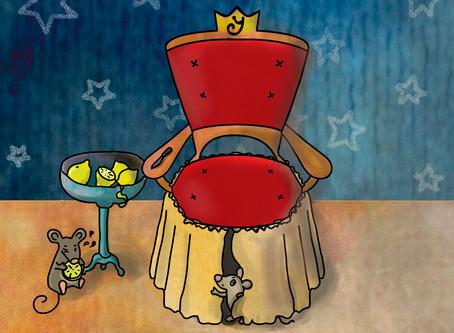 Illustrations for New year treasure hunt set