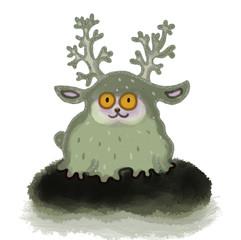 The spirit of reindeer moss