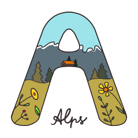 A for Alps