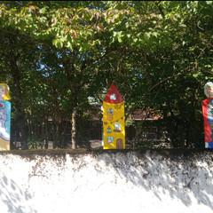 Holzfiguren für den Kindergarten