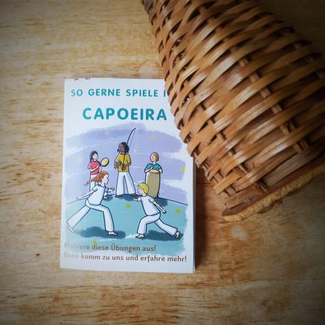 """""""Ich liebe es Capoeira zu spielen"""""""