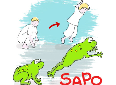 Kids and Capoeira. Illustrations.