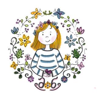"""Logo für """"Das Schmetterlingstal"""""""