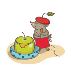 Apple with secret