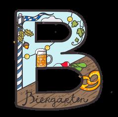 B for Biergarten