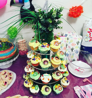 Jungle Book Cupcake Tower