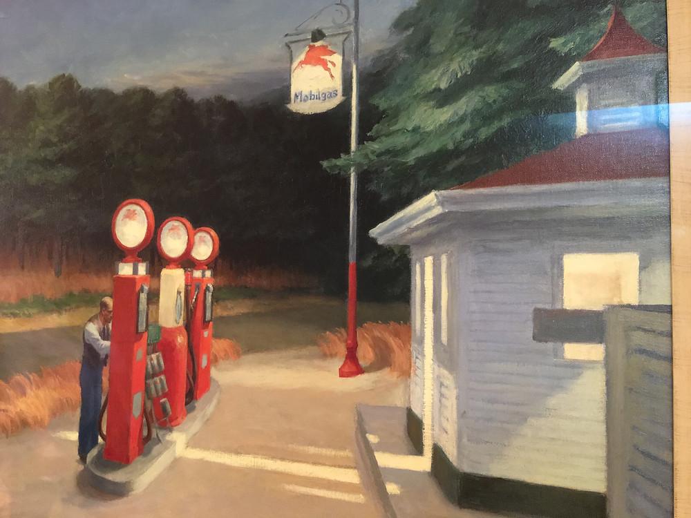 Edward Hopper Gas (1940 )